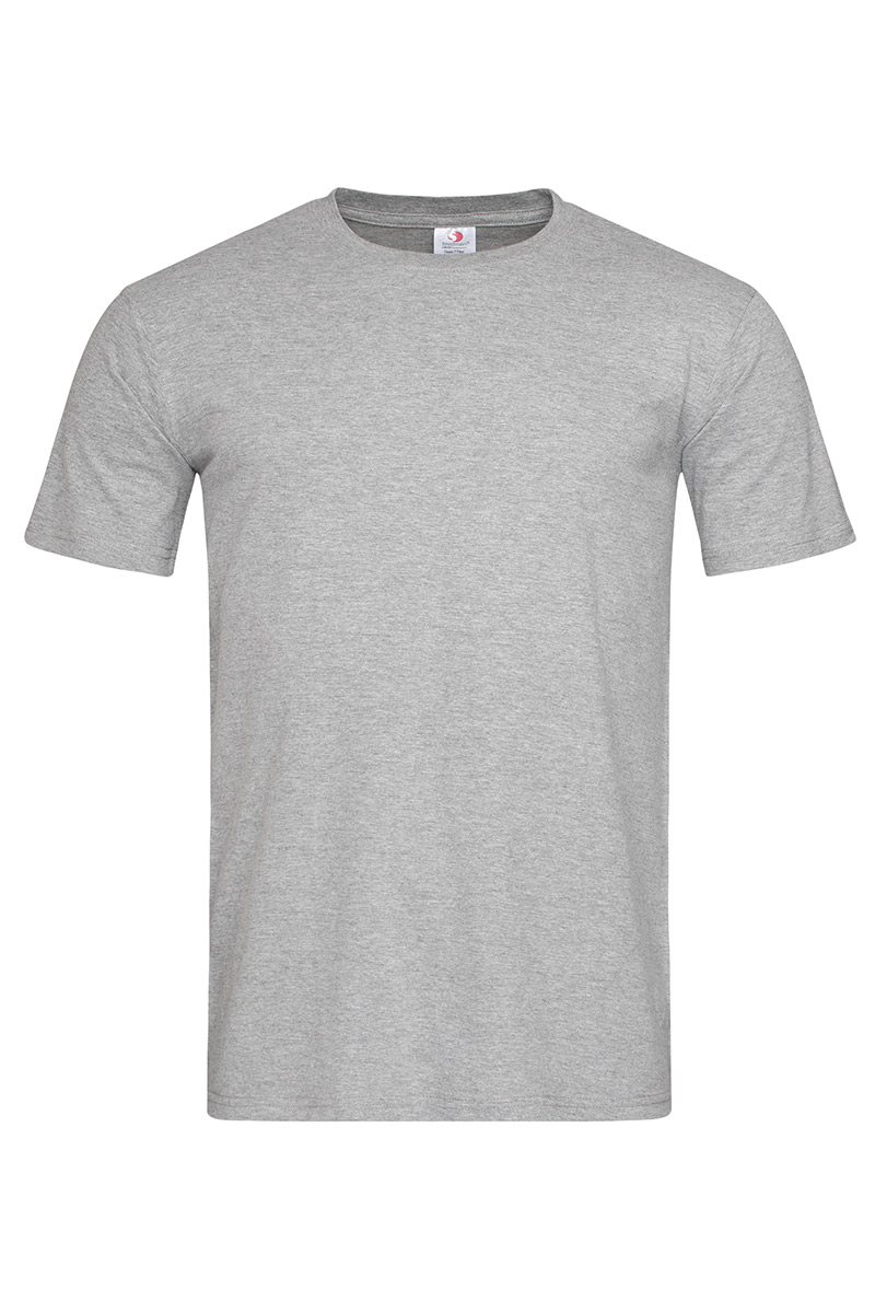 ST2010_GYH Classic-T Fitted Grey Heather