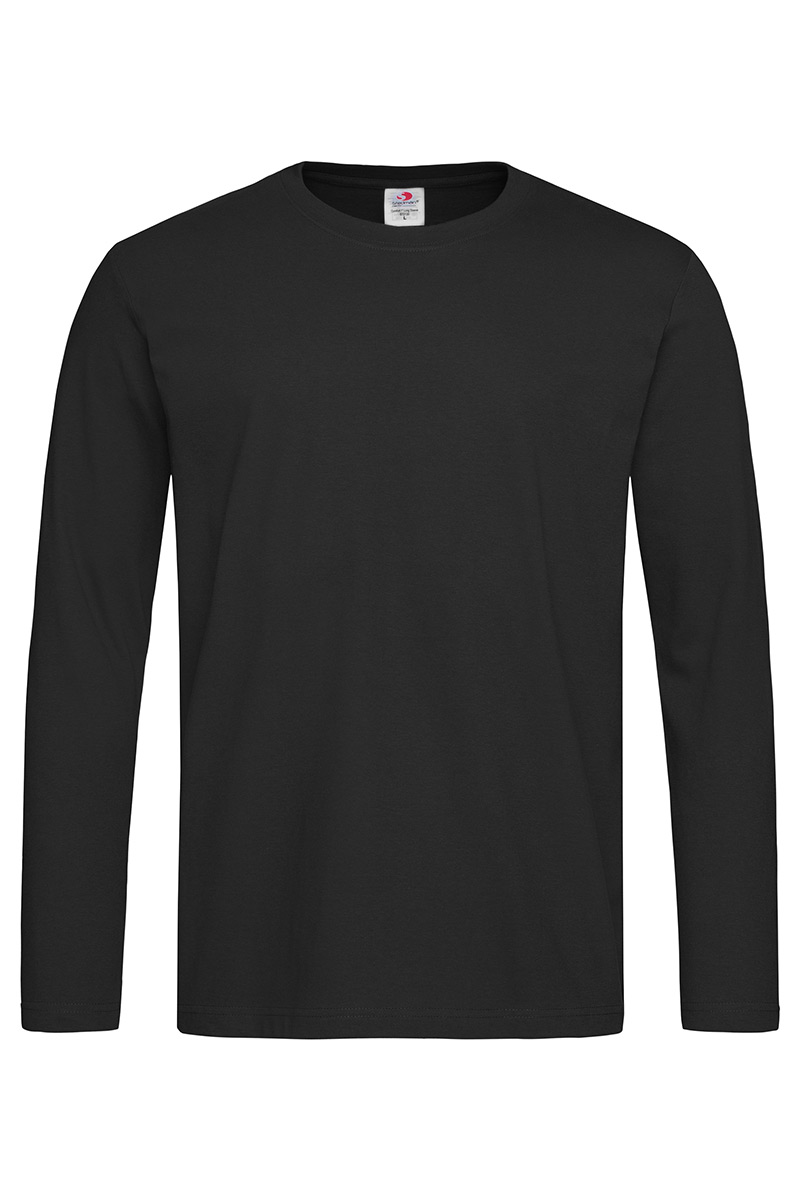 ST2130_BLO Comfort-T 185 Long Sleeve Black Opal