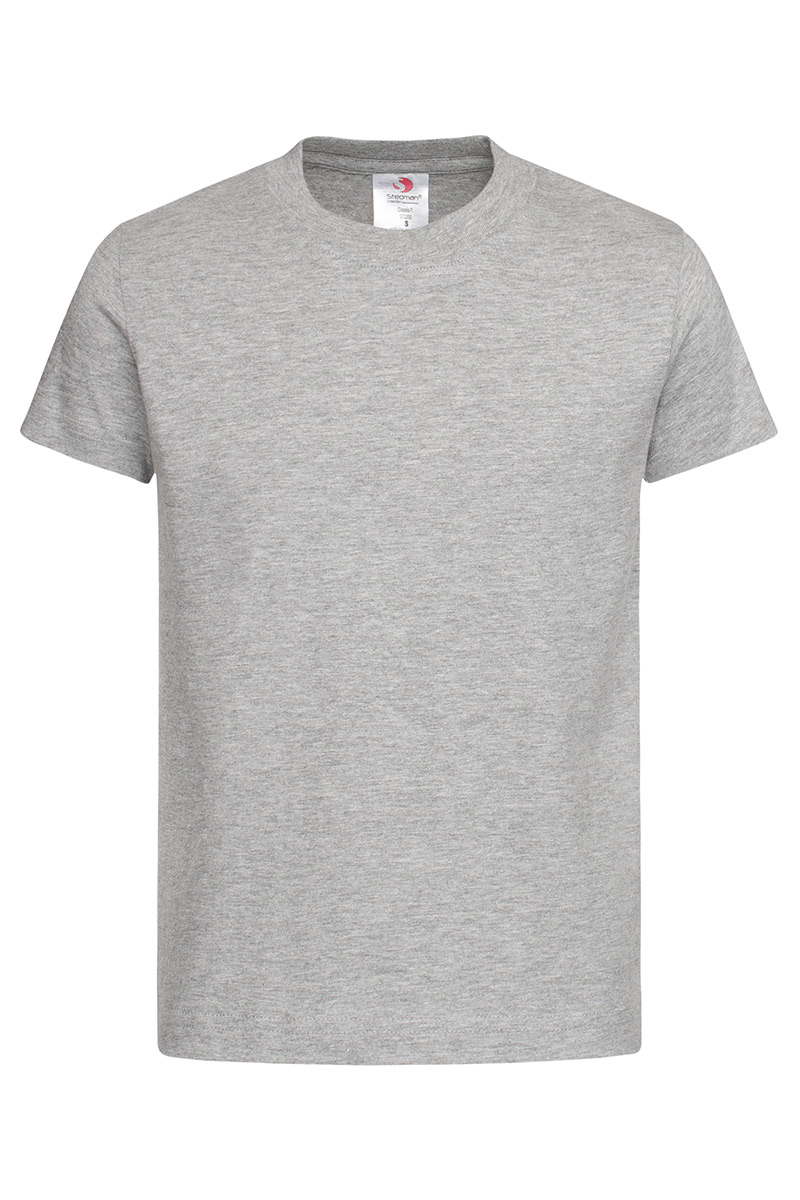 ST2200_GYH Classic-T Kids Grey Heather