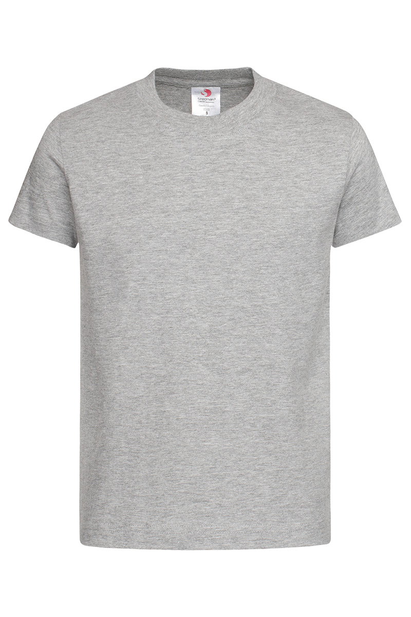 ST2220_GYH Classic-T Organic Kids Grey Heather