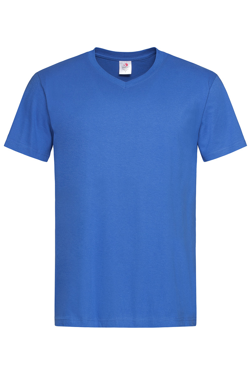 ST2300_BRR Classic-T V-neck Bright Royal