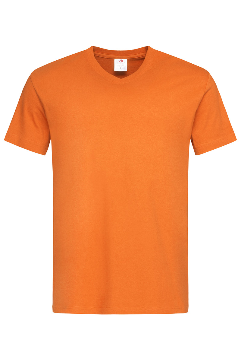 ST2300_ORA Classic-T V-neck Orange