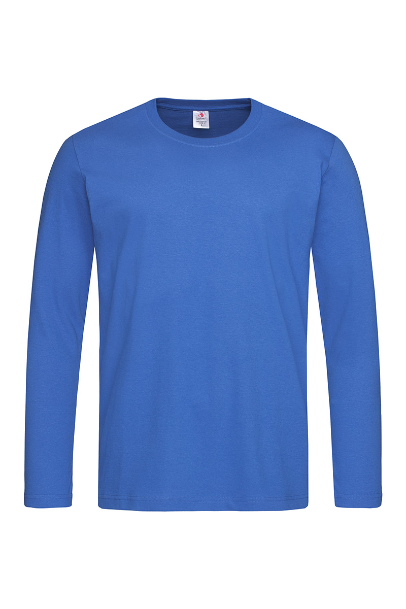 ST2500_BRR Classic-T Long Sleeve Bright Royal