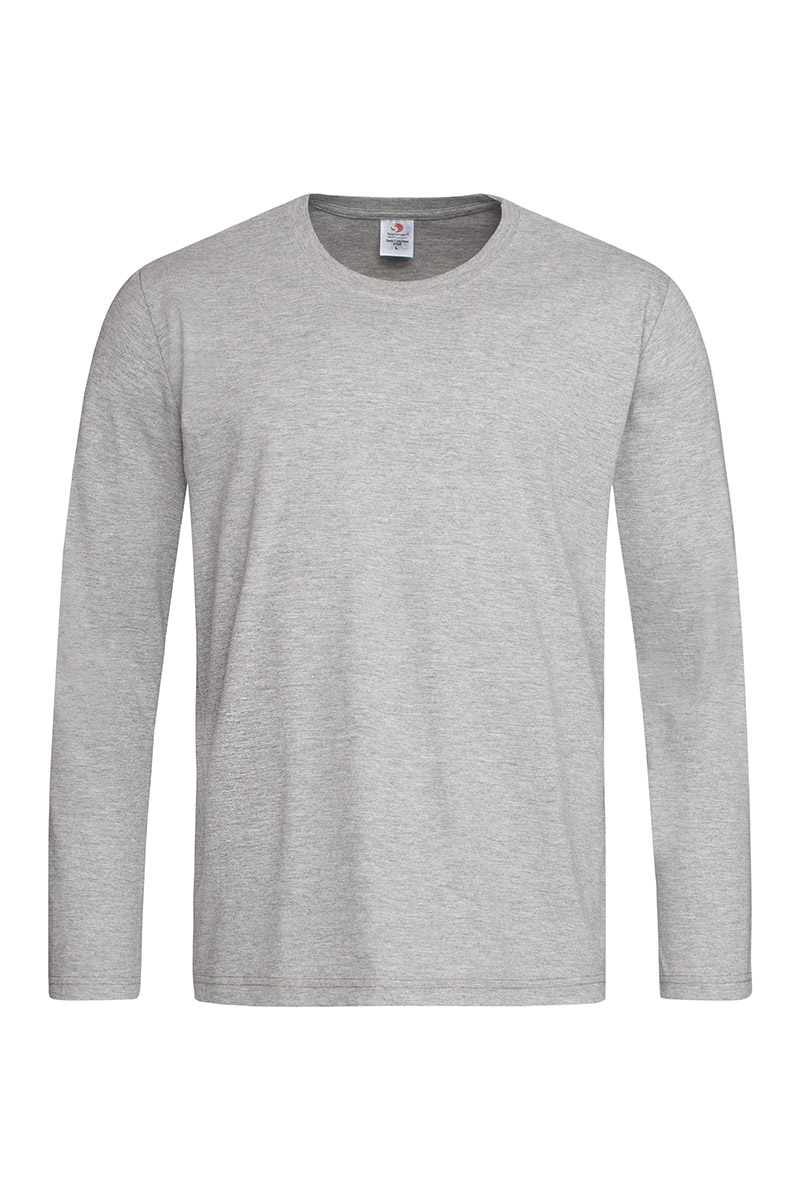 ST2500_GYH Classic-T Long Sleeve Grey Heather