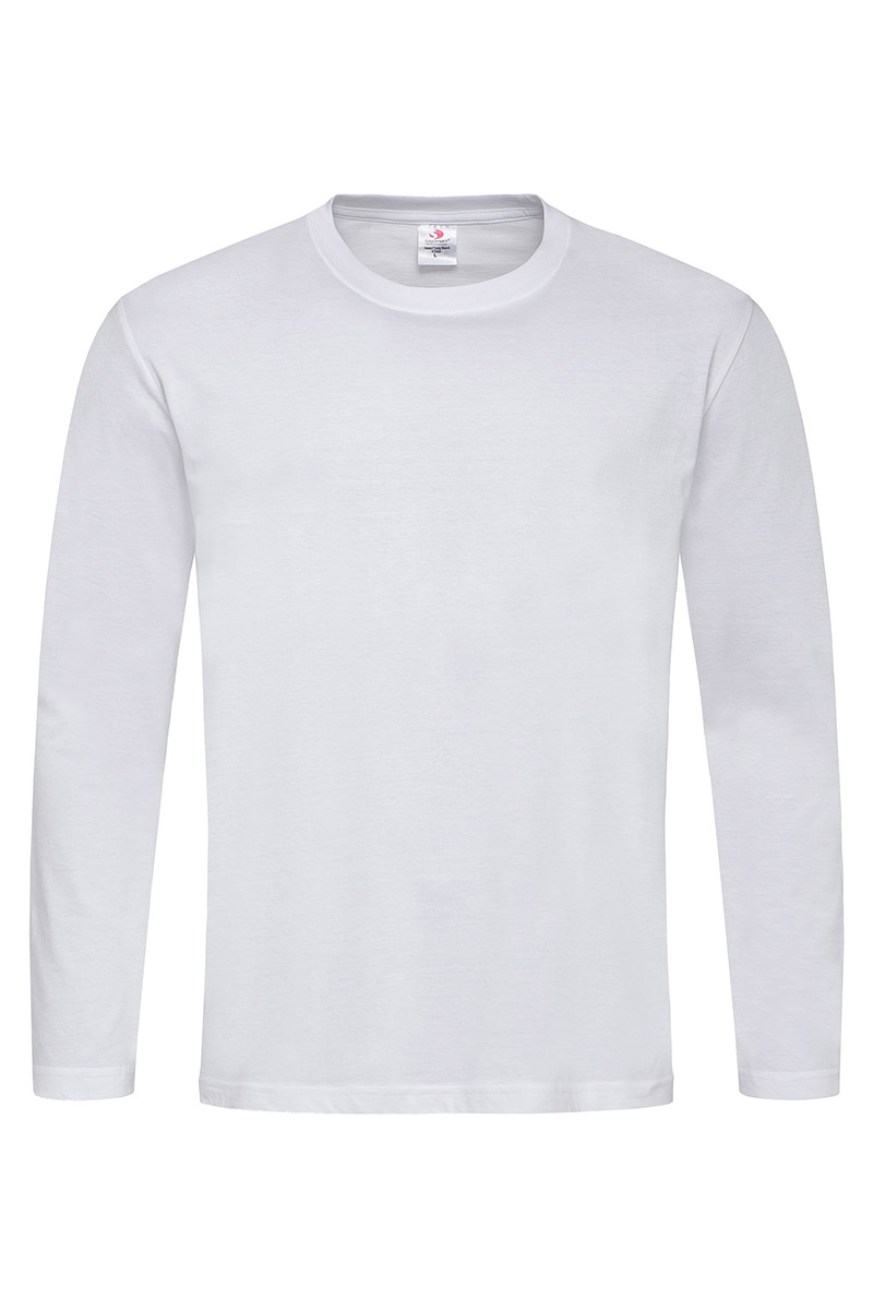 ST2500_WHI Classic-T Long Sleeve White