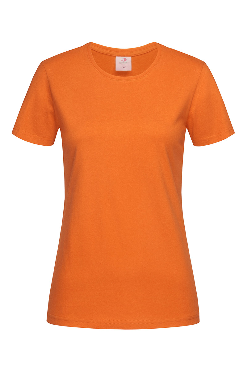 ST2600_ORA Classic-T Fitted Orange
