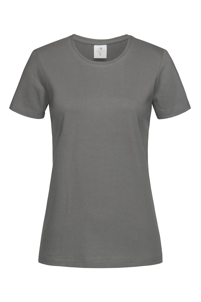ST2600_RGY Classic-T Fitted Real Grey