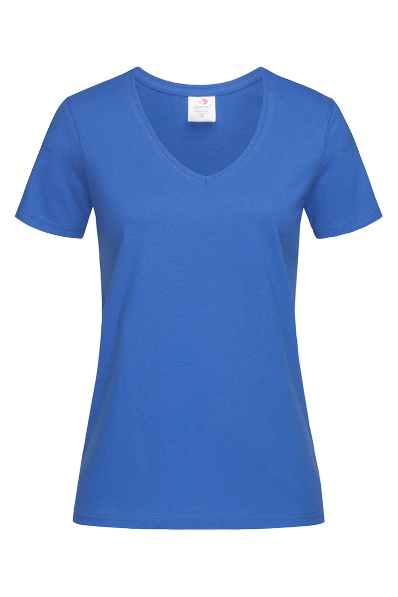 ST2700_BRR Classic-T V-neck Bright Royal