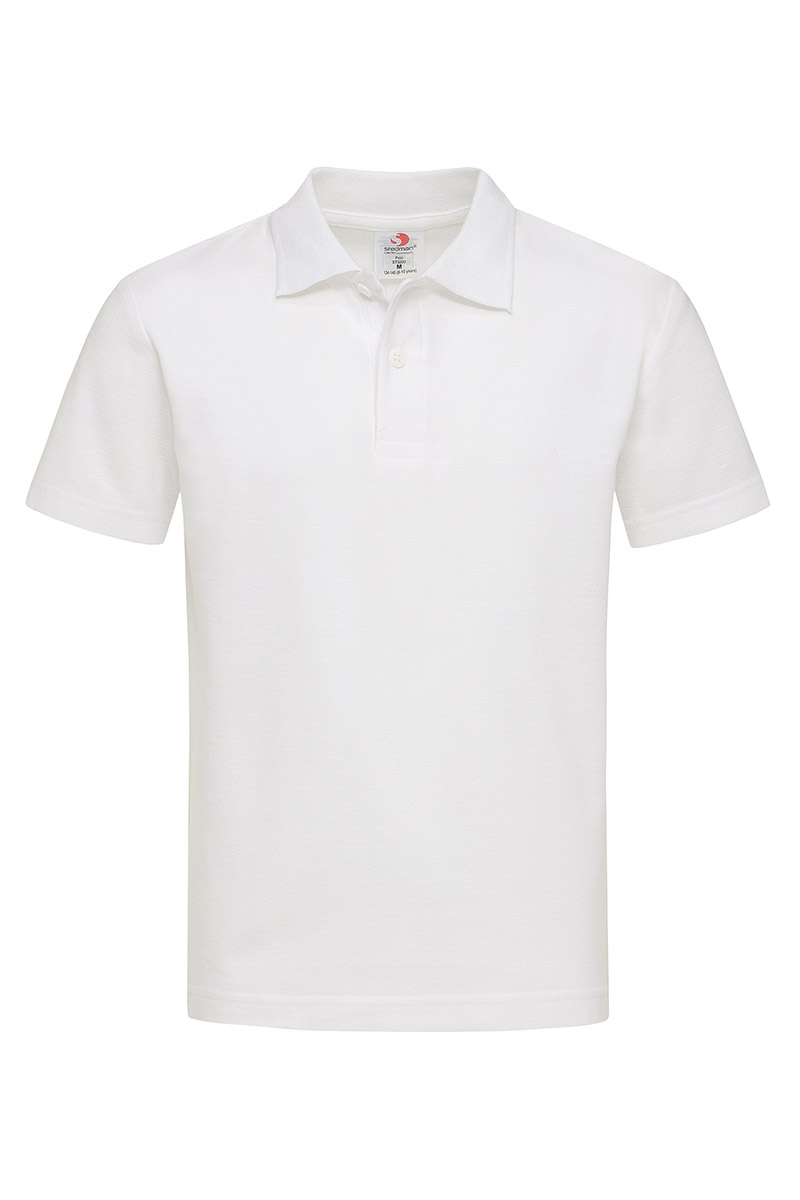 ST3200_WHI Polo Kids White