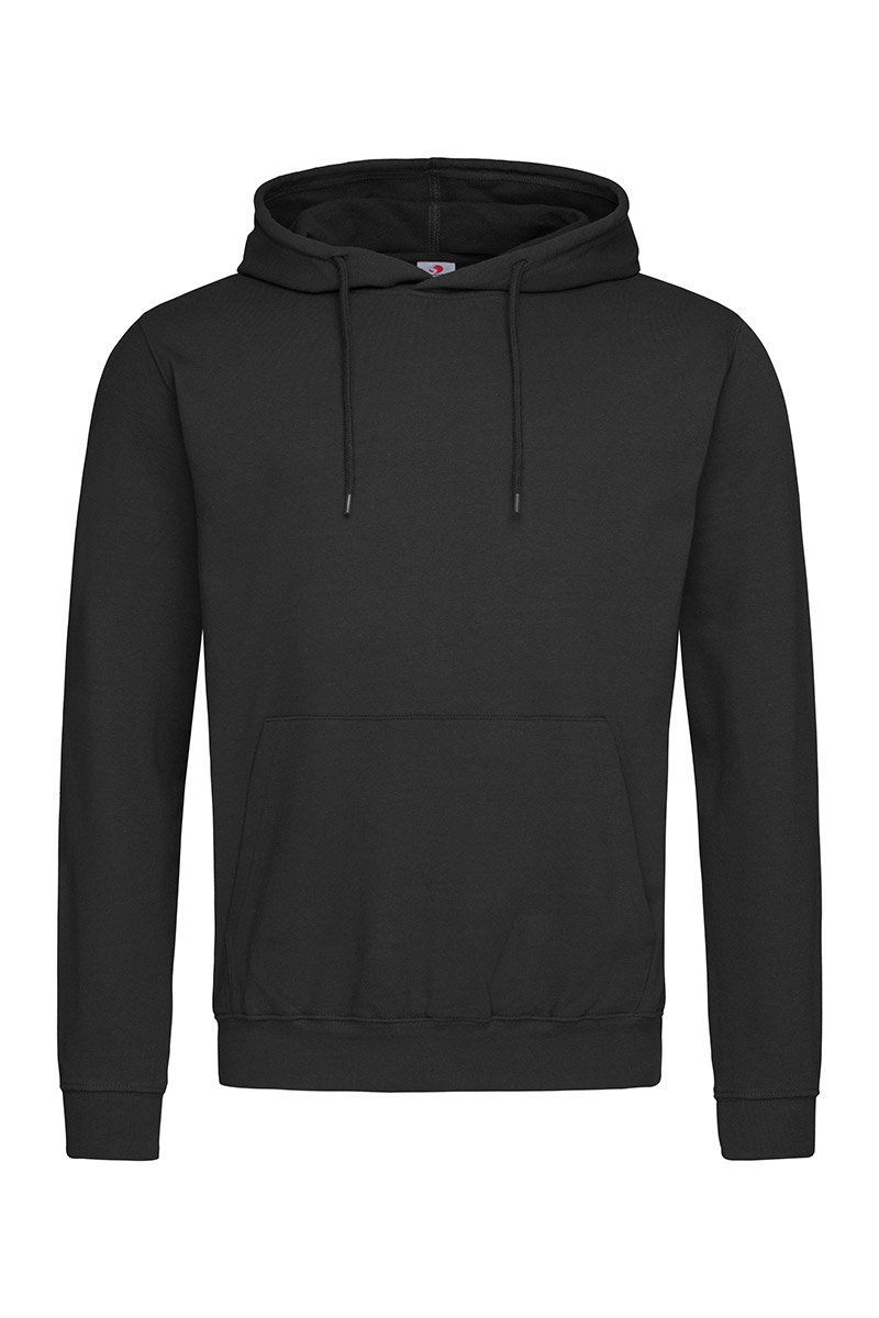 ST4100_BLO Hooded Sweatshirt Black Opal