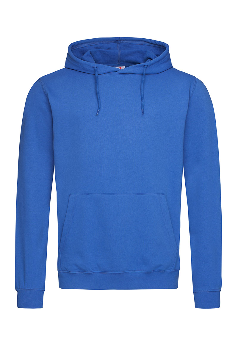 ST4100_BRR Hooded Sweatshirt Bright Royal