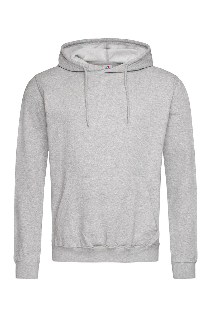 ST4100_GYH Hooded Sweatshirt Grey Heather