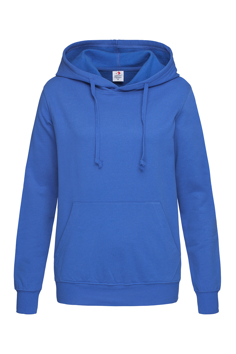 ST4110_BRR Hooded Sweatshirt Bright Royal