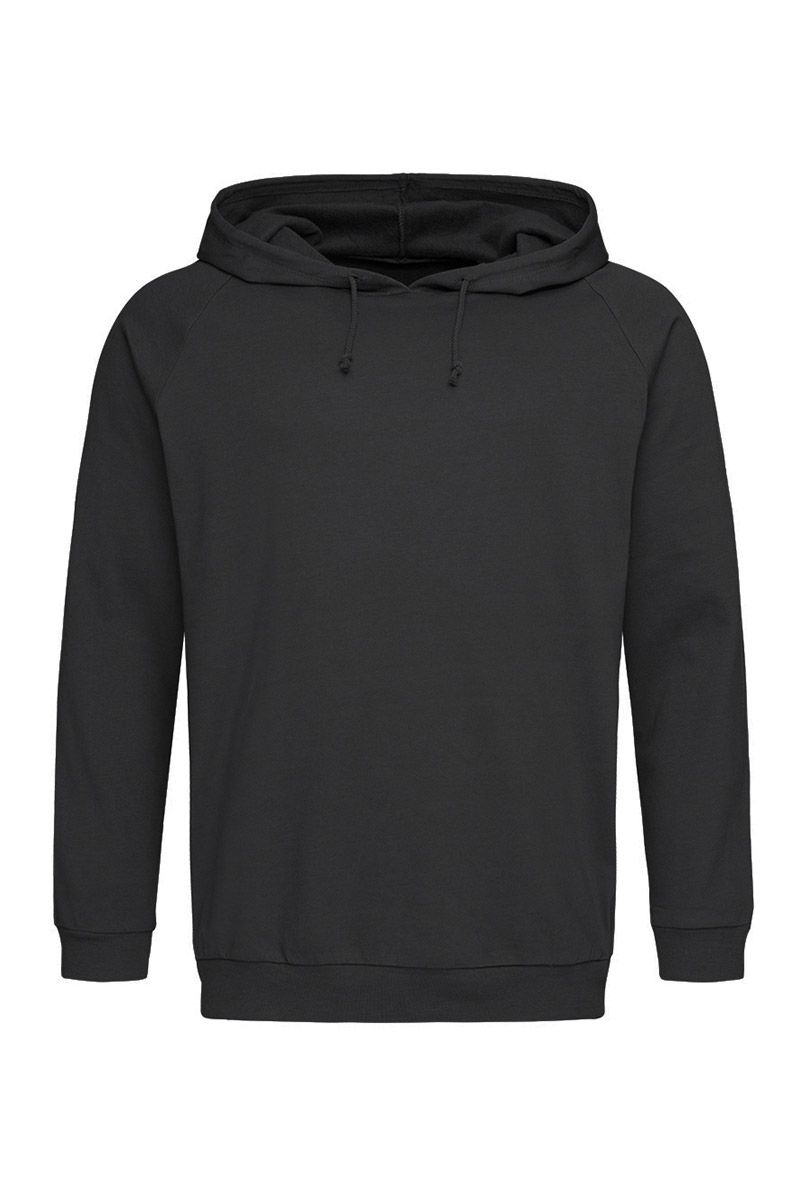 ST4200_BLO Unisex Hooded Sweatshirt Black Opal