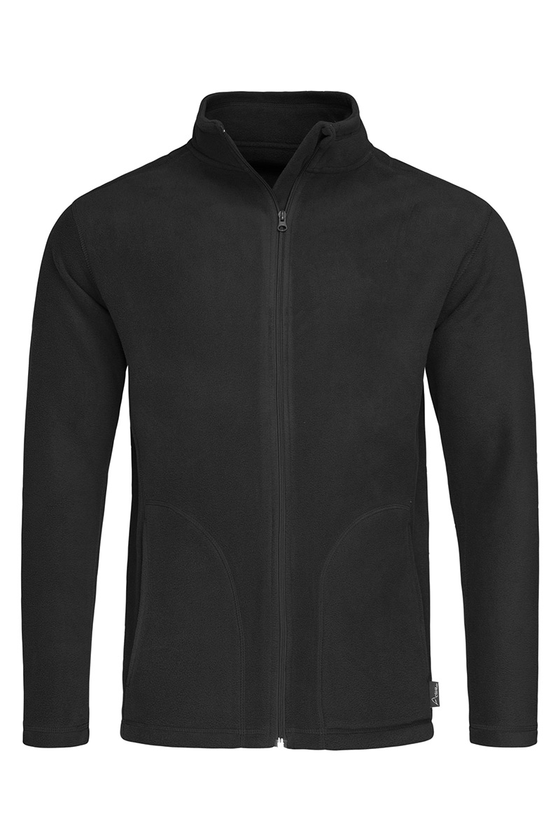 ST5030_BLO Fleece Jacket Black Opal