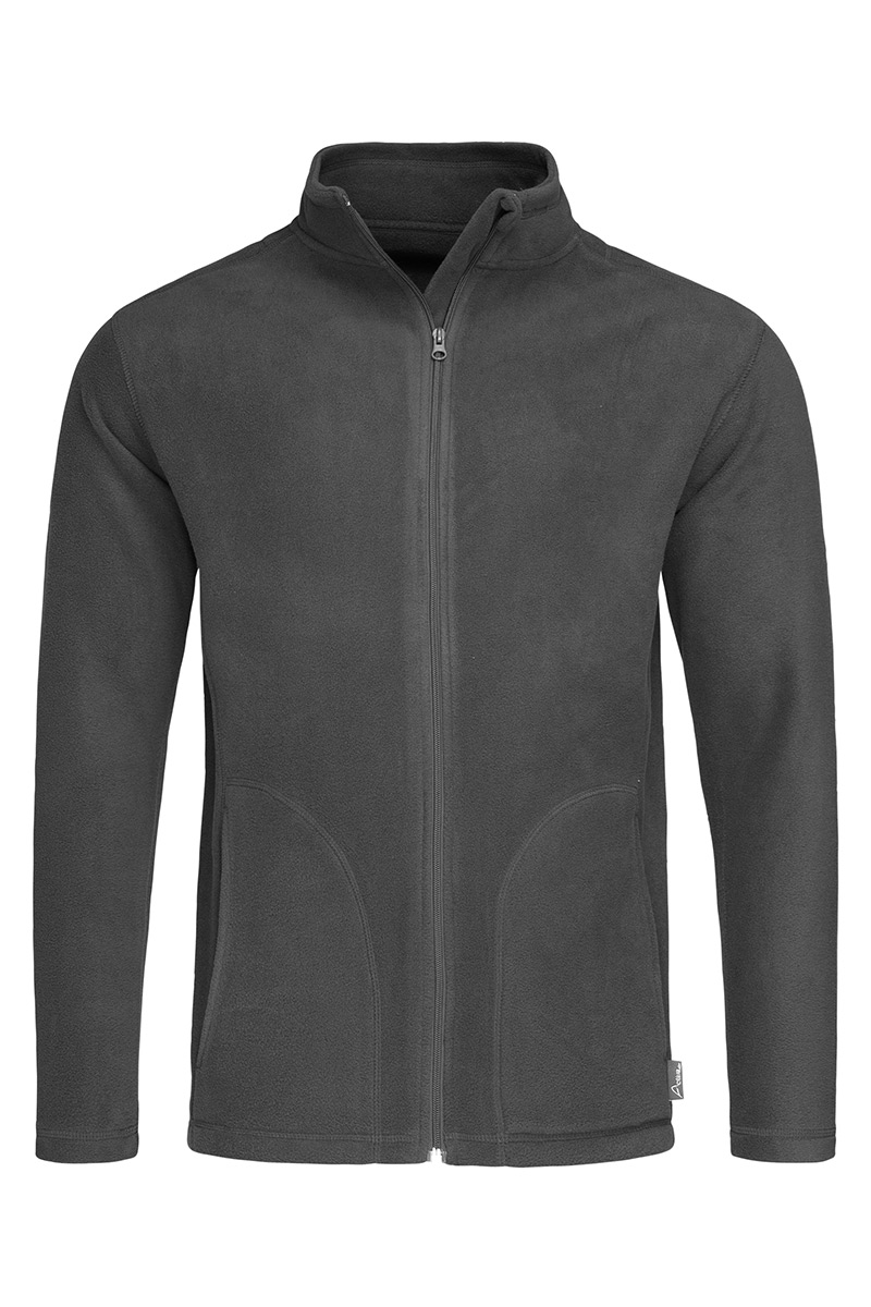 ST5030_GRS Fleece Jacket Grey Steel