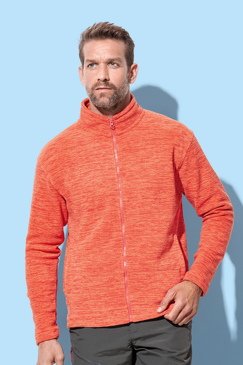 ST5060 Melange Fleece Jacket