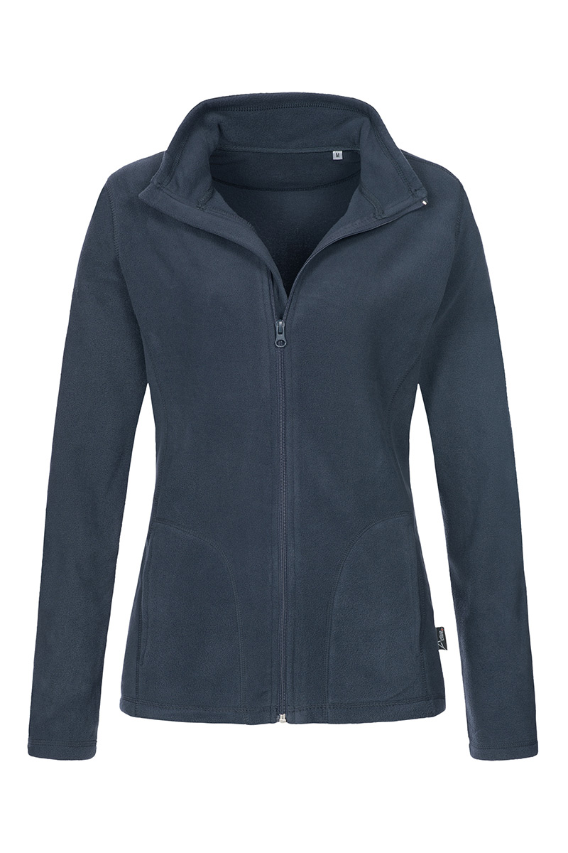 ST5100_BLM Fleece Jacket Blue Midnight