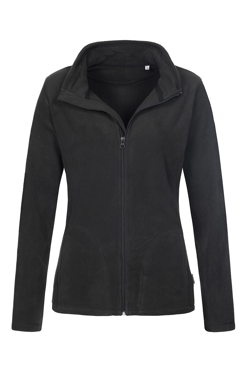 ST5100_BLO Fleece Jacket Black Opal