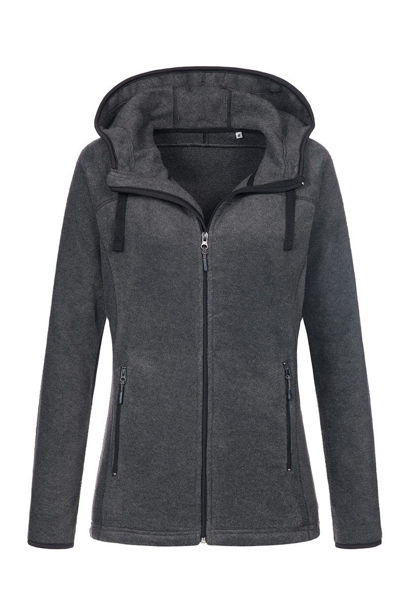 ST5120_ANH Power Fleece Jacket Anthra Heather
