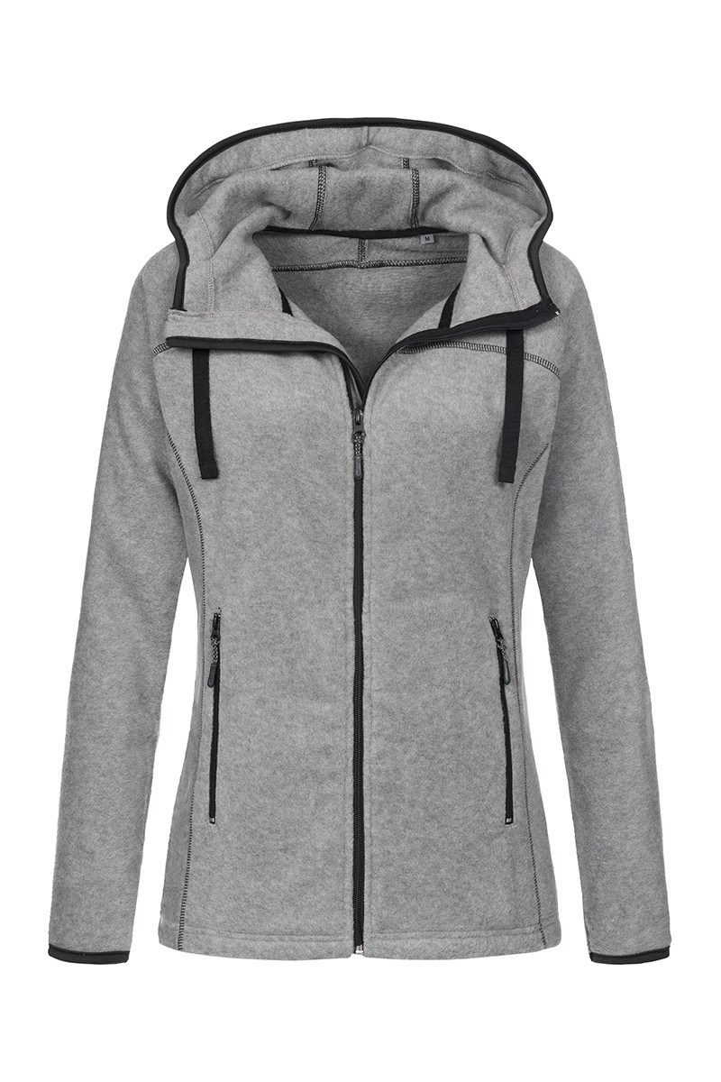 ST5120_GYH Power Fleece Jacket Grey Heather