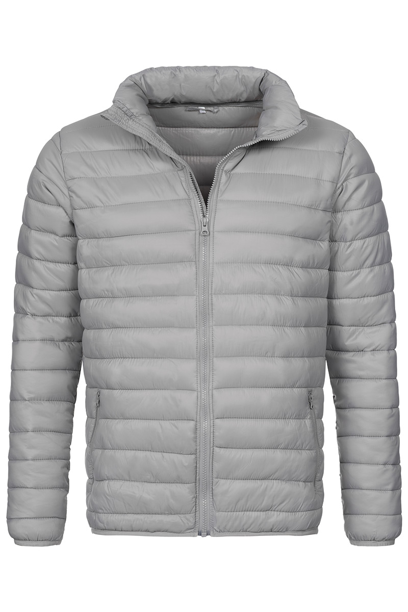 ST5200_LGY Padded Jacket Light Grey