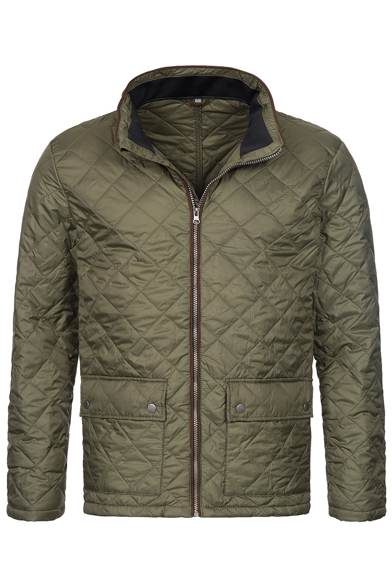 ST5260_MIL Quilted Jacket Military Green