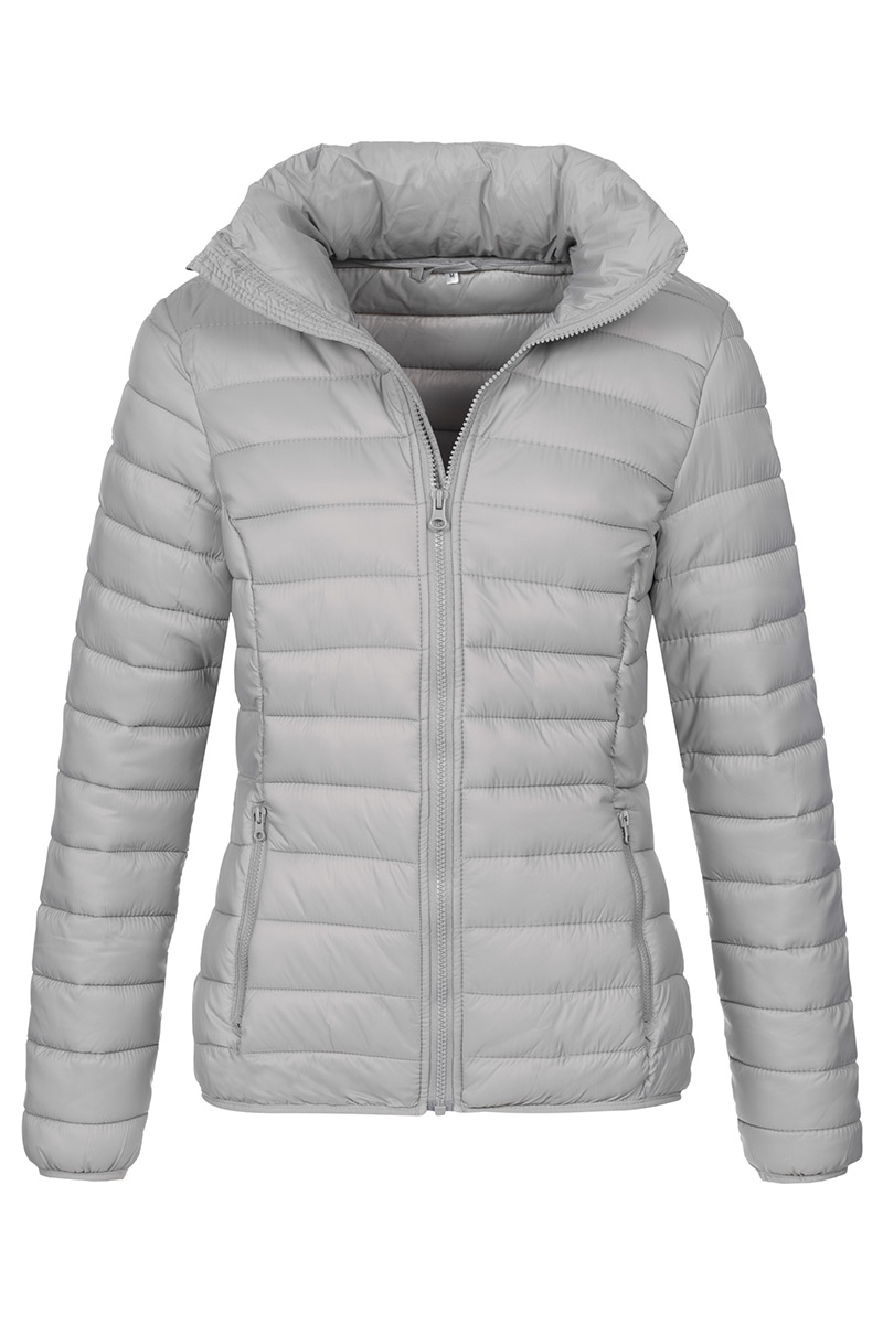 ST5300_LGY Padded Jacket Light Grey