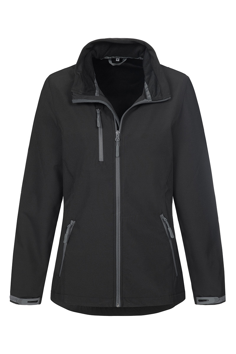 ST5330_BLO Softest Shell Jacket Black Opal