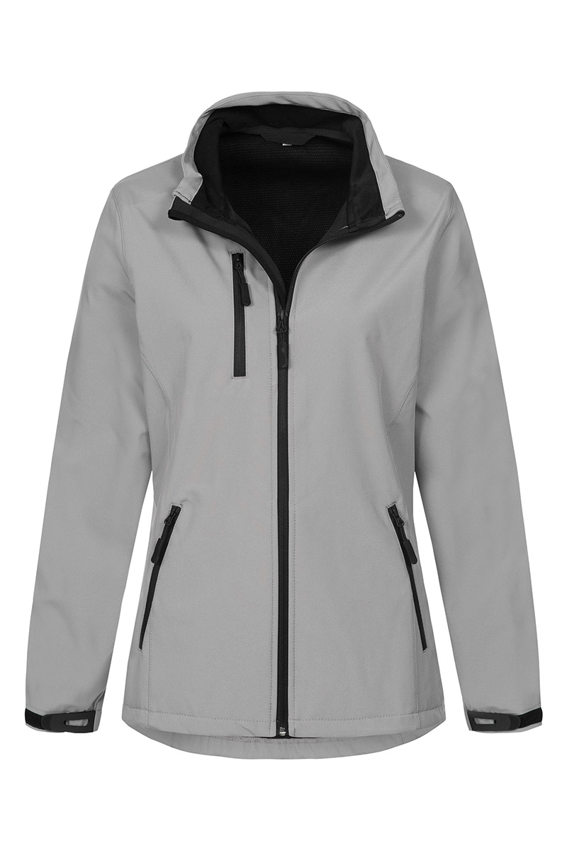 ST5330_DOG Softest Shell Jacket Dolphin Grey