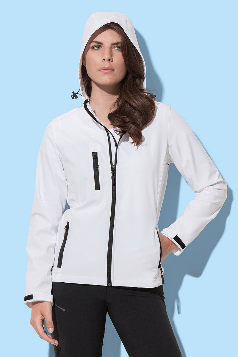 ST5340 Softest Shell Hooded Jacket