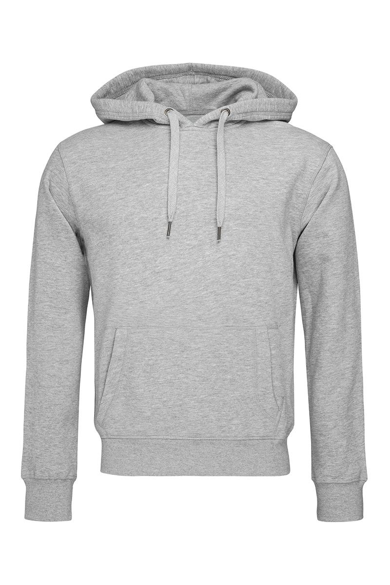ST5600_GYH Sweat Hoodie Grey Heather