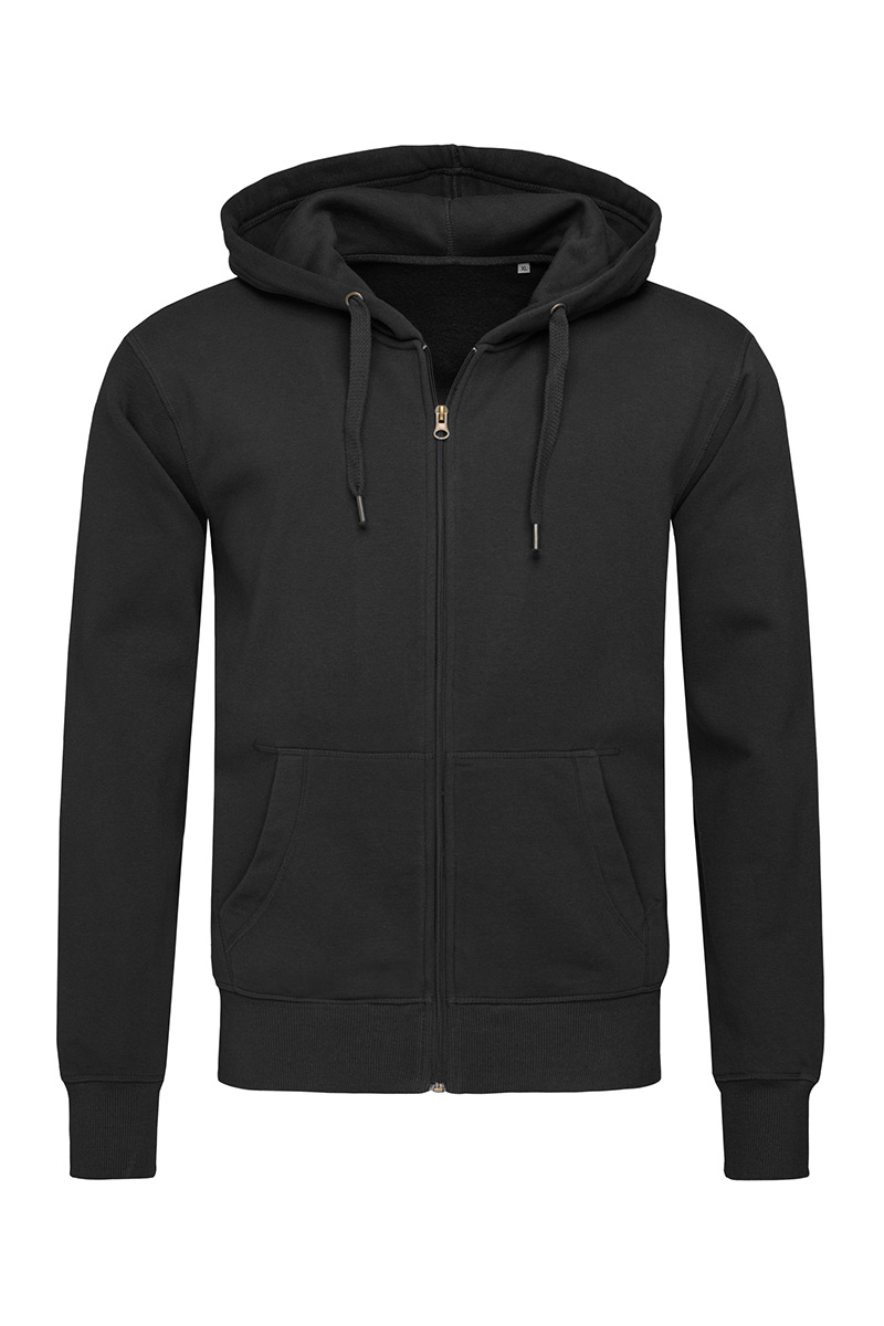ST5610_BLO Sweat Jacket Black Opal