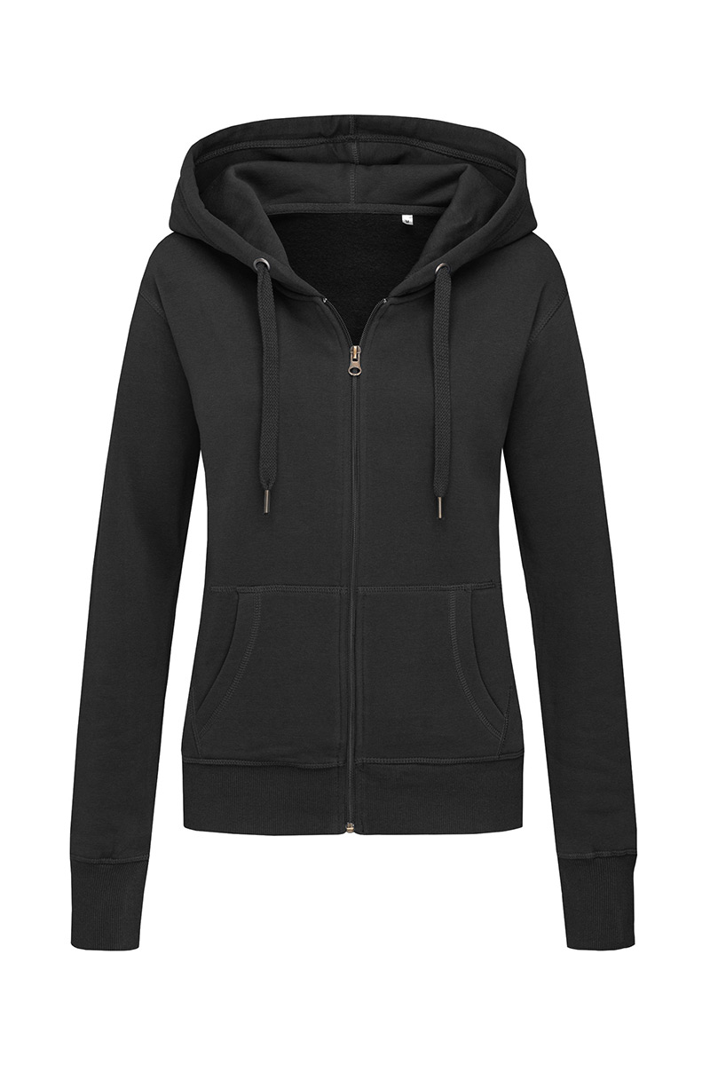 ST5710_BLO Sweat Jacket Black Opal