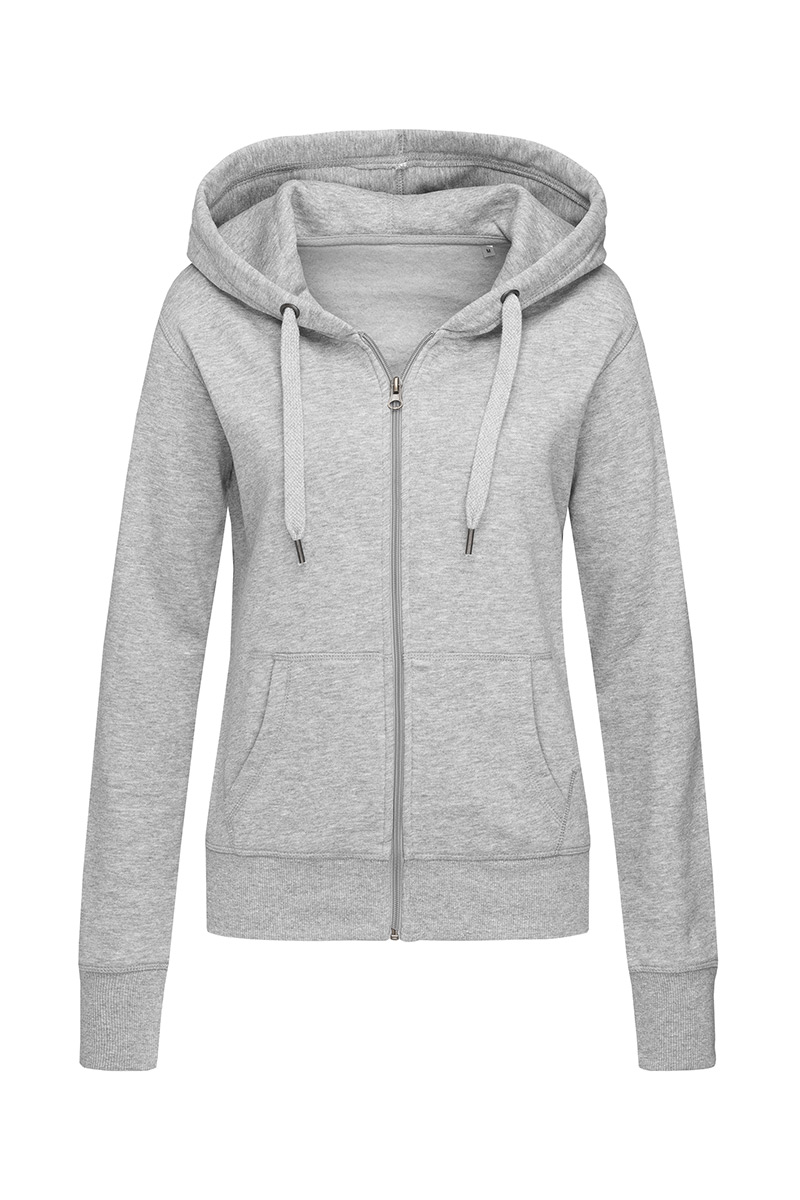 ST5710_GYH Sweat Jacket Grey Heather