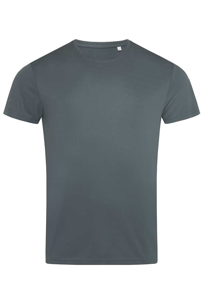 ST8000_GRG Sports-T Granite Grey