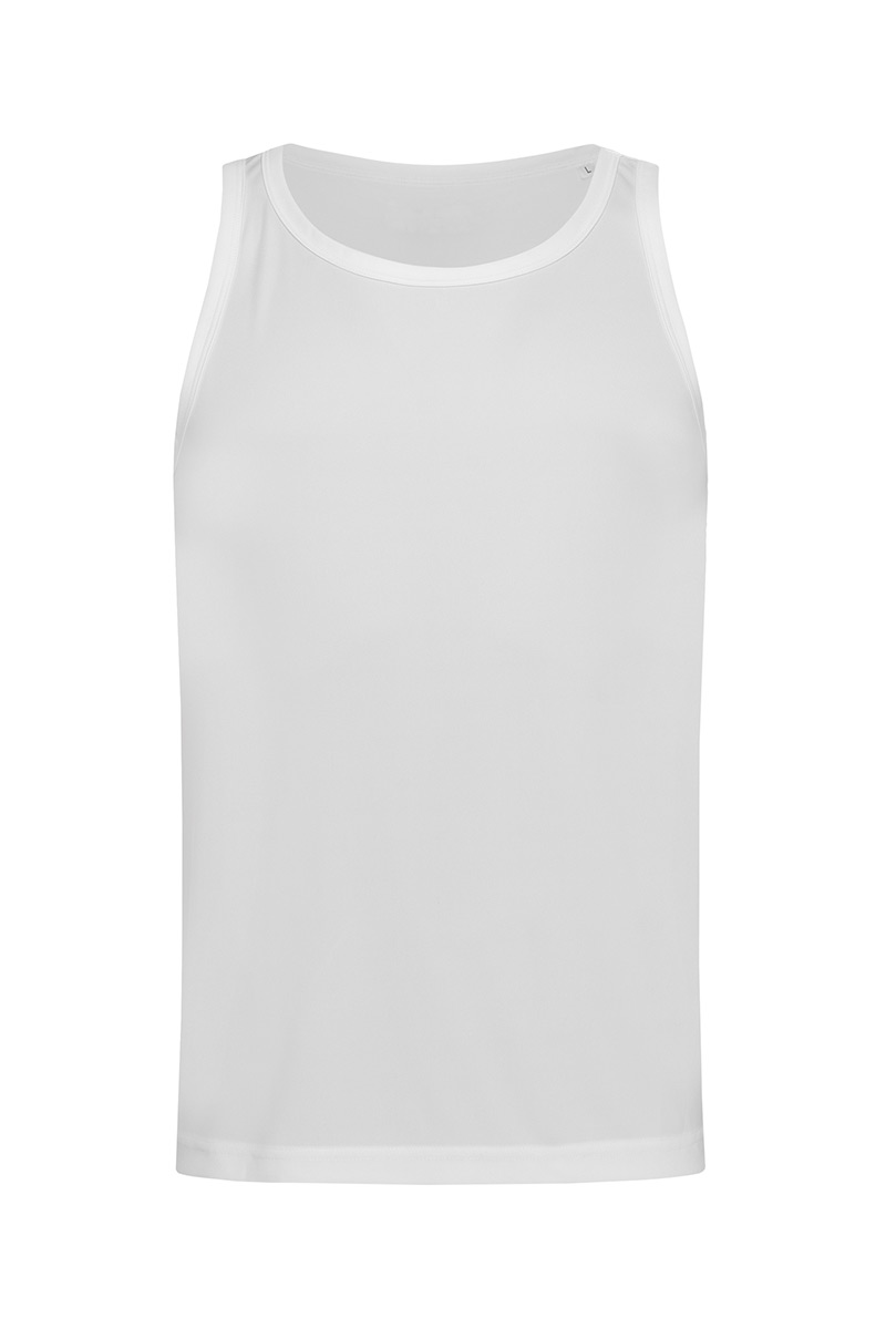 ST8010_WHI Sports Top White