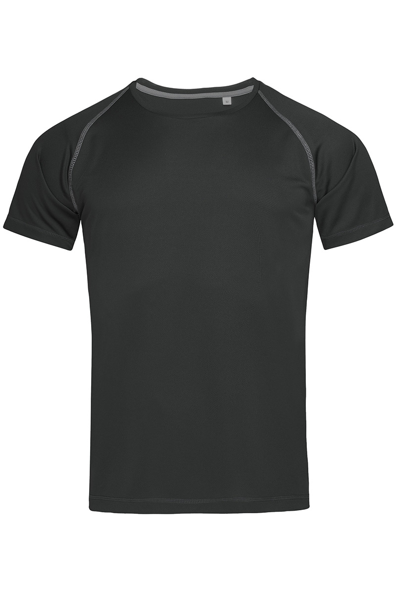 ST8030_BLO Active 140 Team Raglan Black Opal