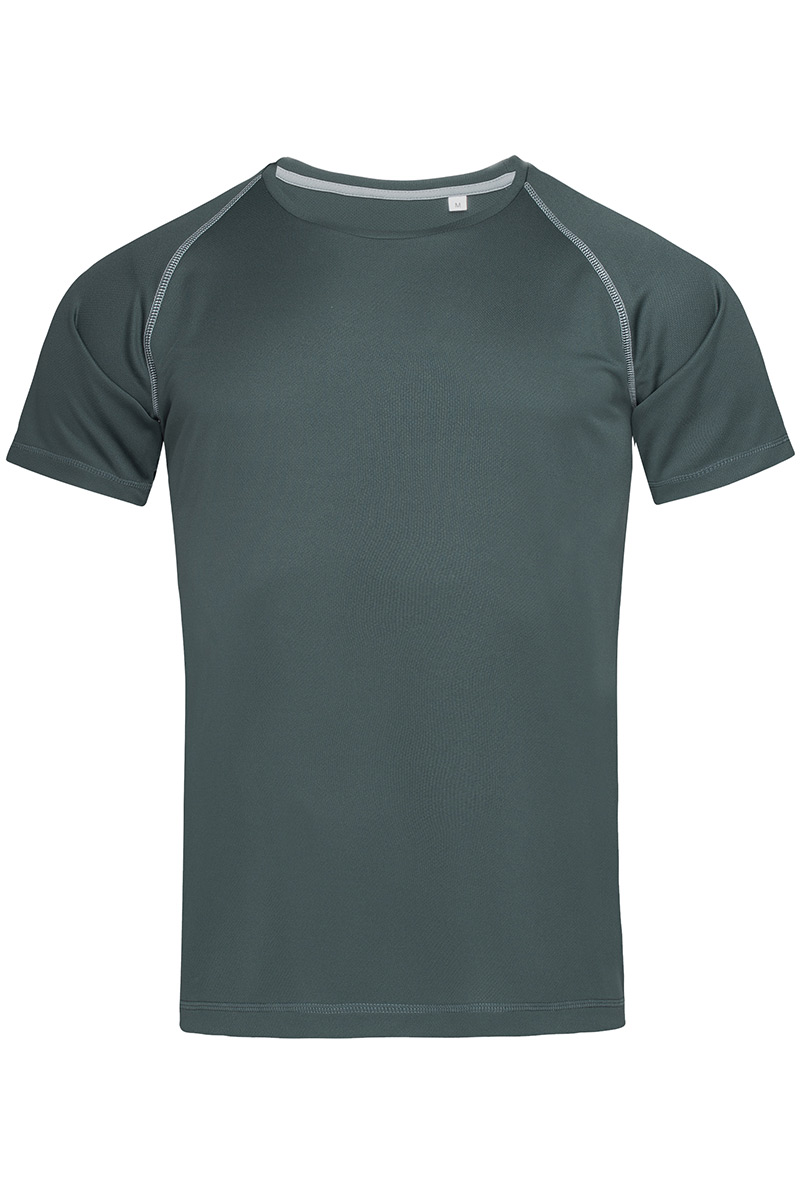 ST8030_GRG Active 140 Team Raglan Granite Grey