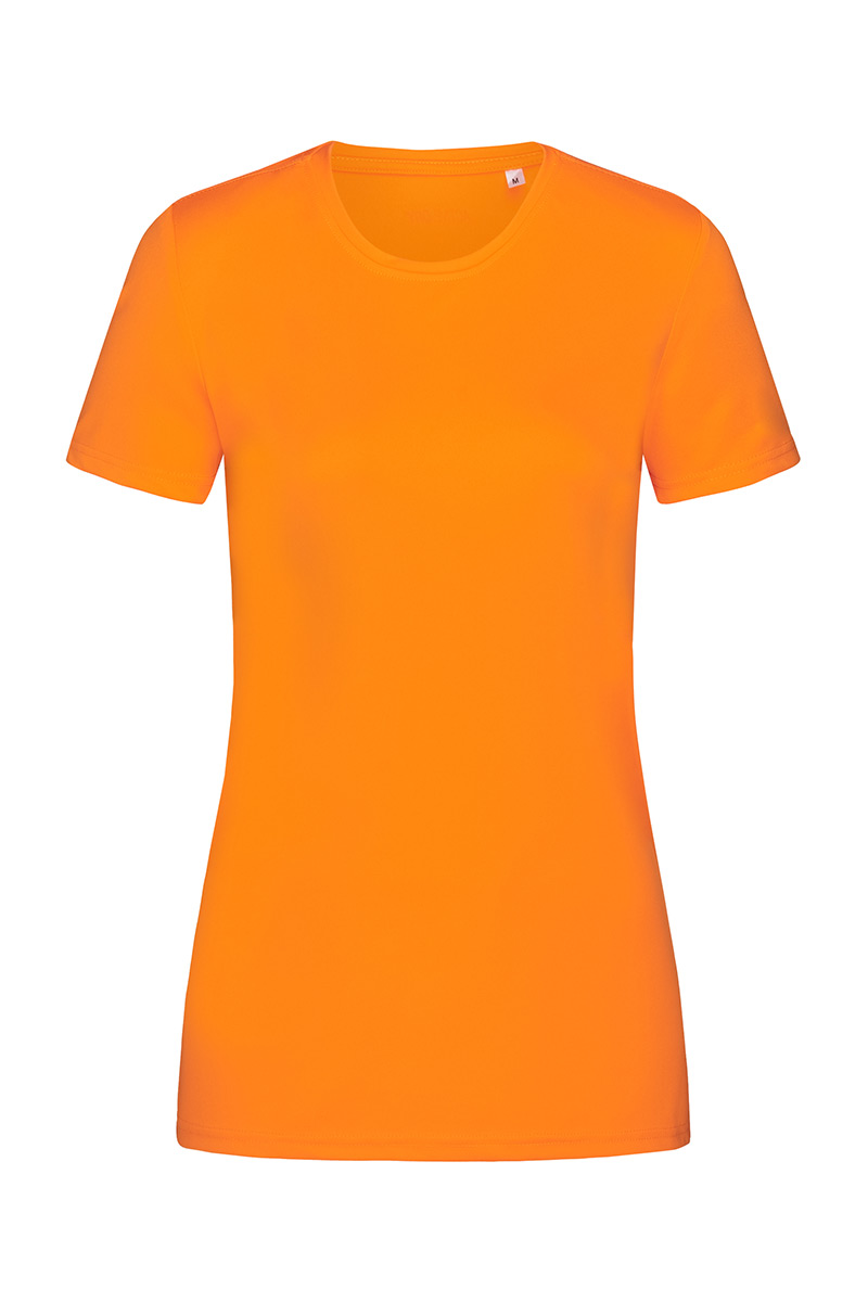 ST8100_COR Sports-T Cyber Orange