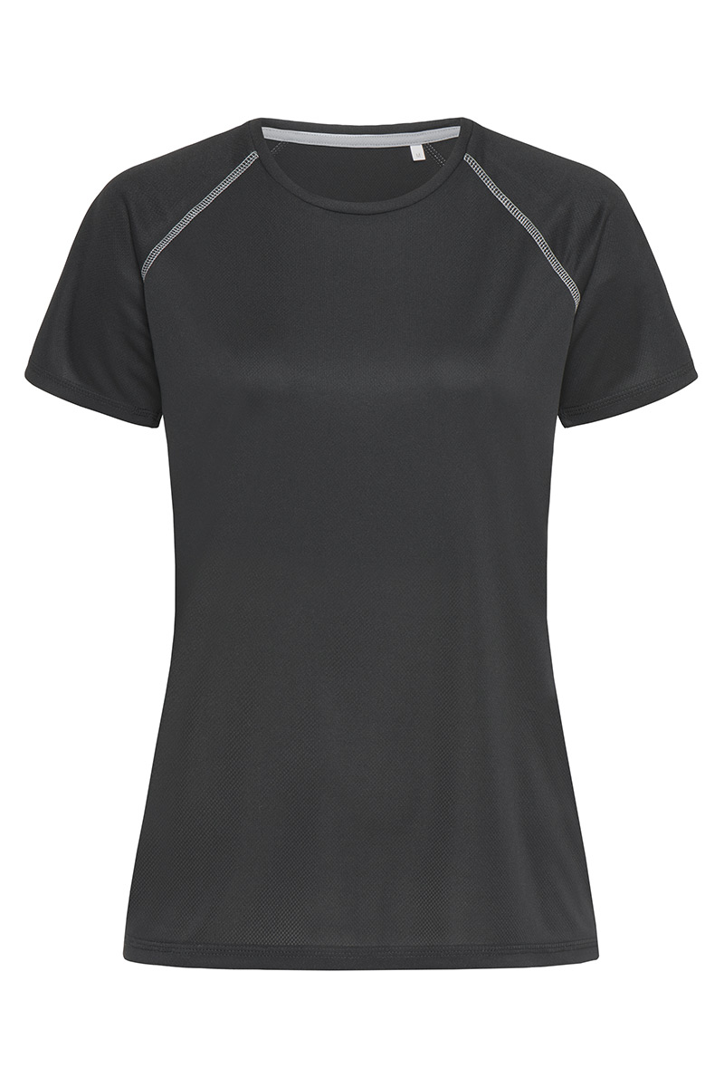 ST8130_BLO Active 140 Team Raglan Black Opal