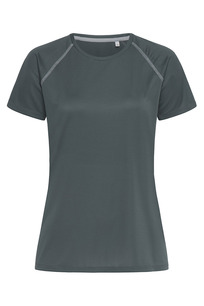 ST8130_GRG Active 140 Team Raglan Granite Grey