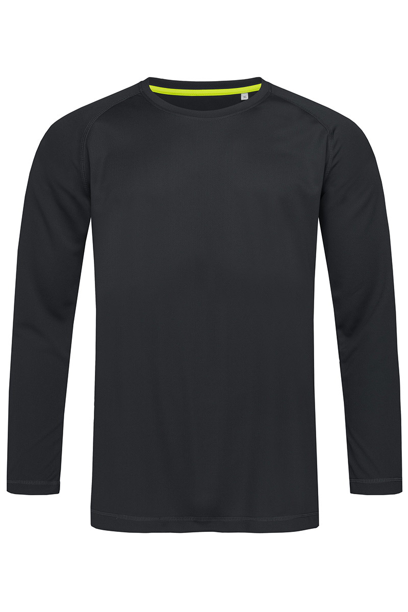 ST8420_BLO Active 140 Long Sleeve Black Opal