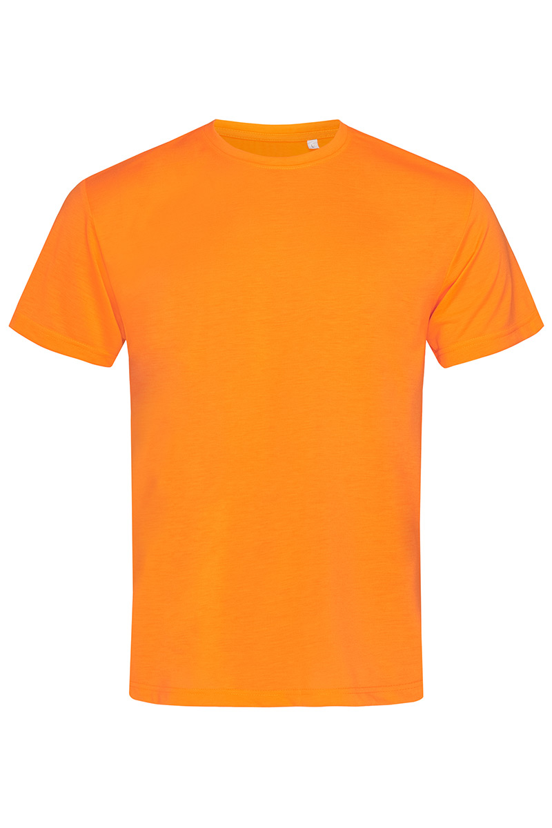 ST8600_COR Cotton Touch Cyber Orange