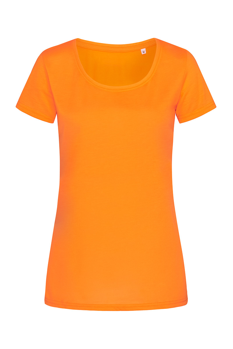 ST8700_COR Cotton Touch Cyber Orange