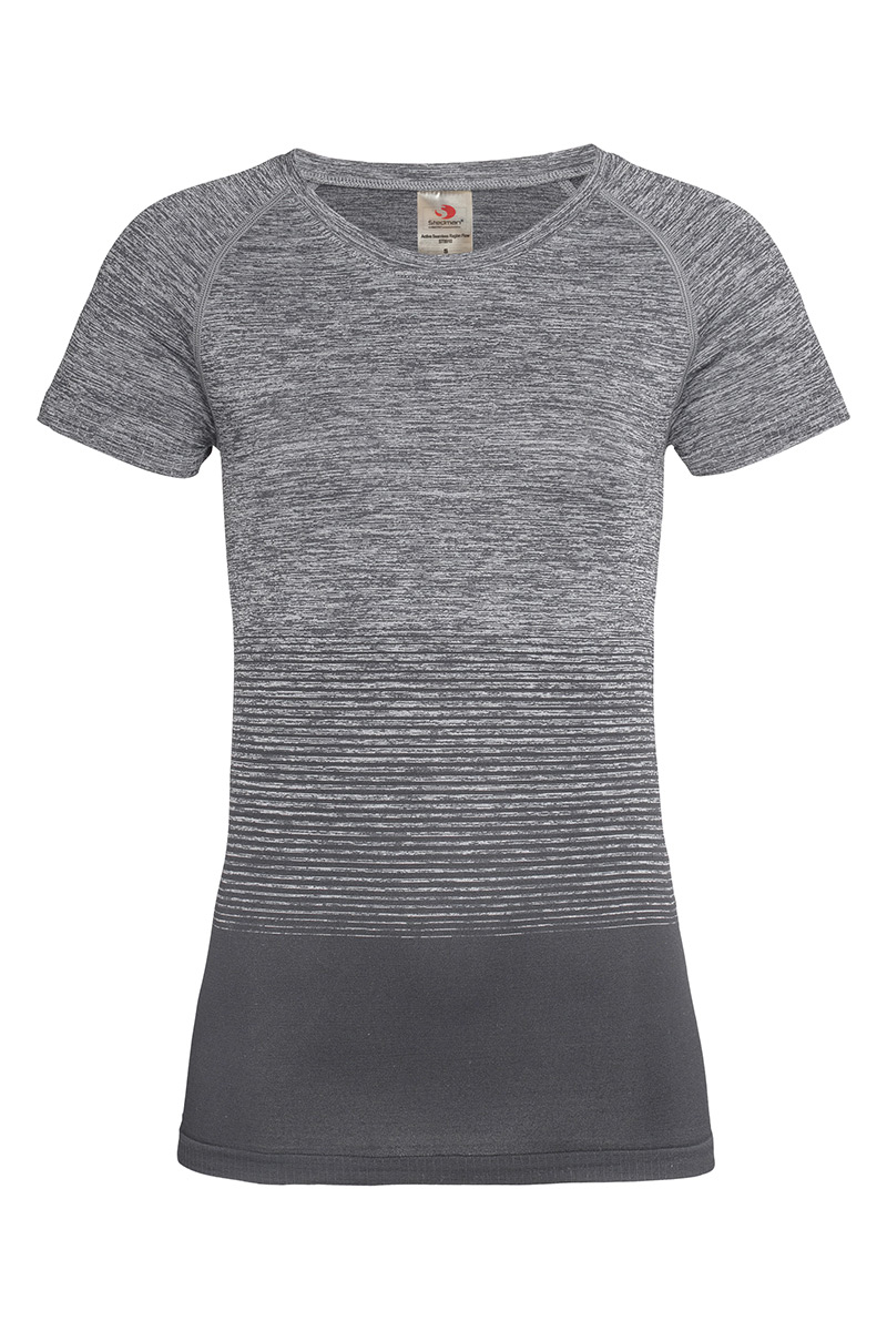 ST8910_LGT Seamless Raglan Flow Light Grey Transition