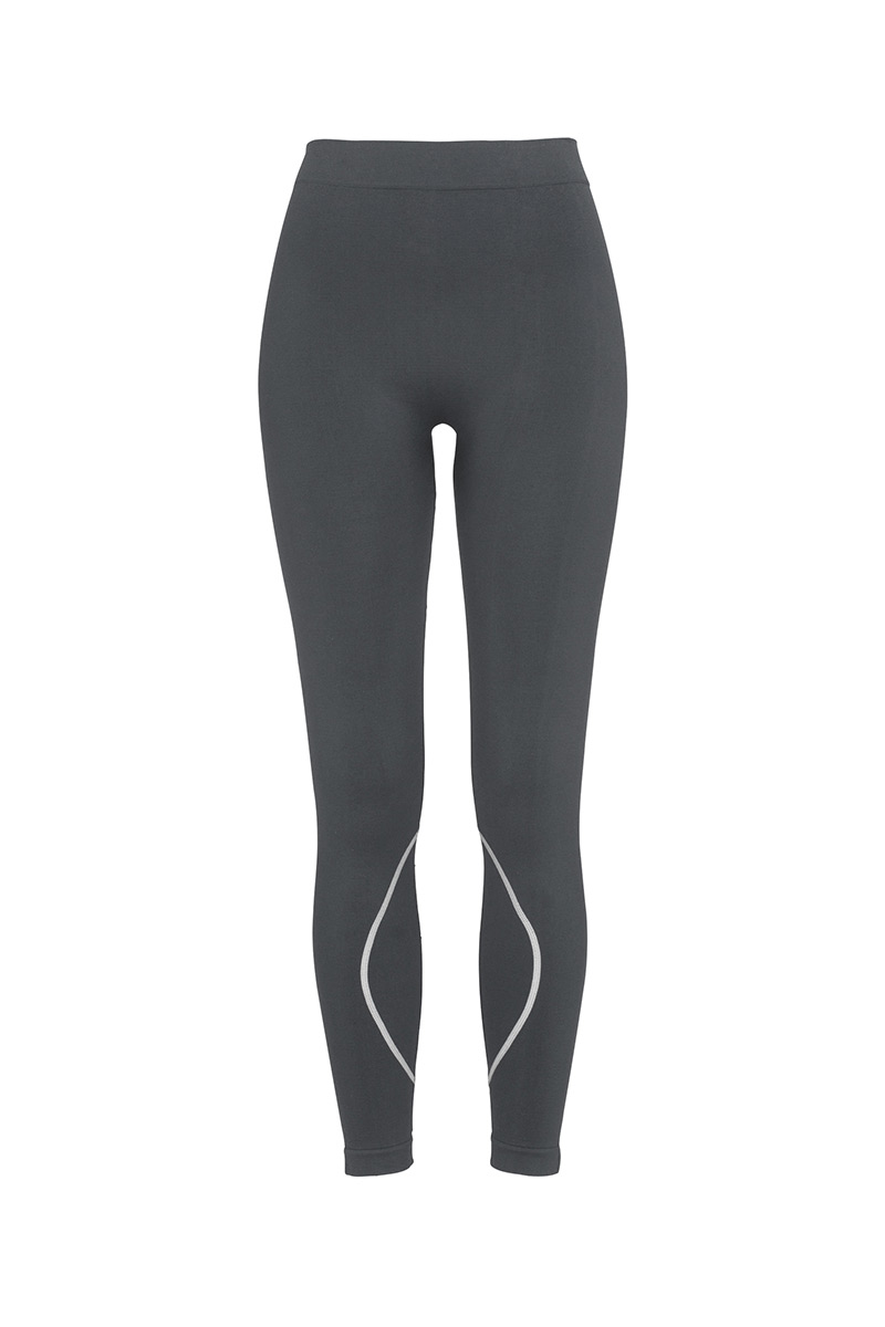 ST8990_GRS Seamless Tights Grey Steel