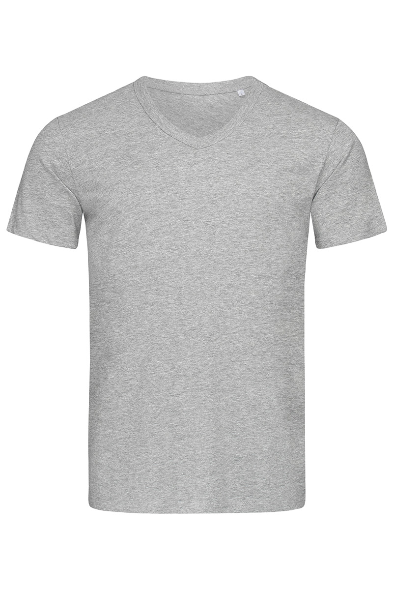 ST9010_GYH Ben V-neck Grey Heather