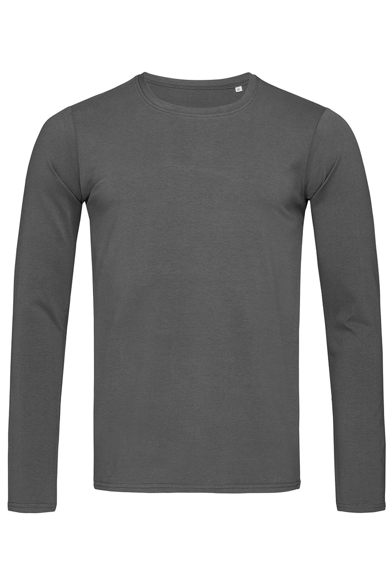 ST9040_SLG Morgan Long Sleeve Slate Grey