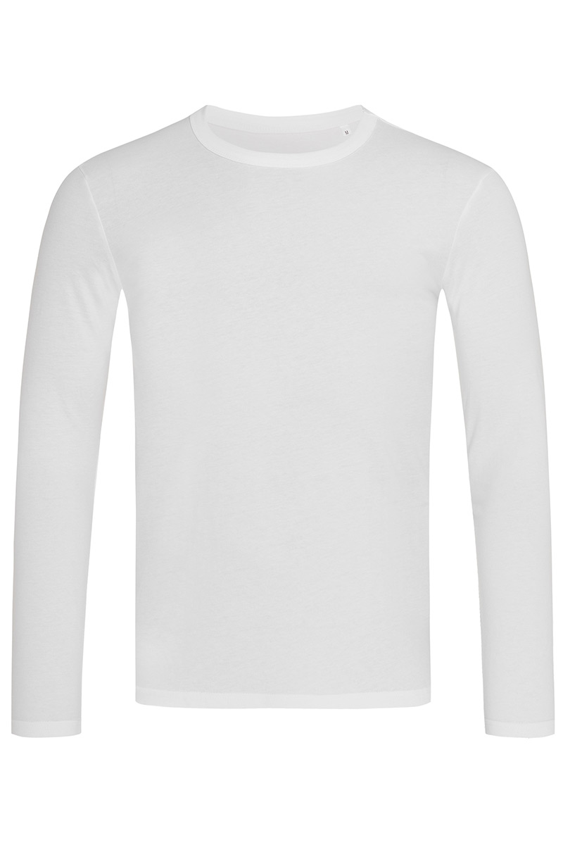 ST9040_WHI Morgan Long Sleeve White